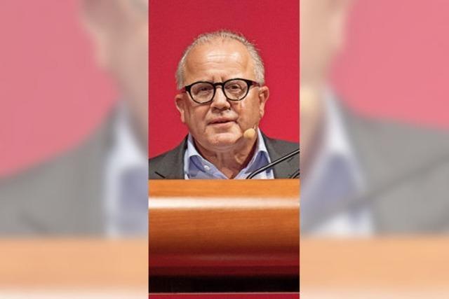 Fritz Keller führt jetzt ehrenamtlich