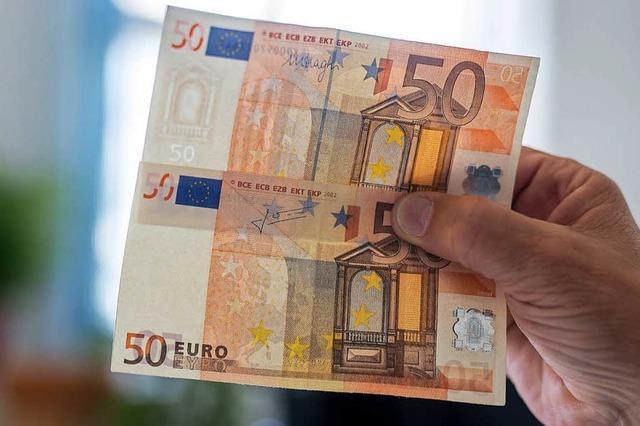 Falsche 50-Euro-Scheine im Fricktal aufgetaucht