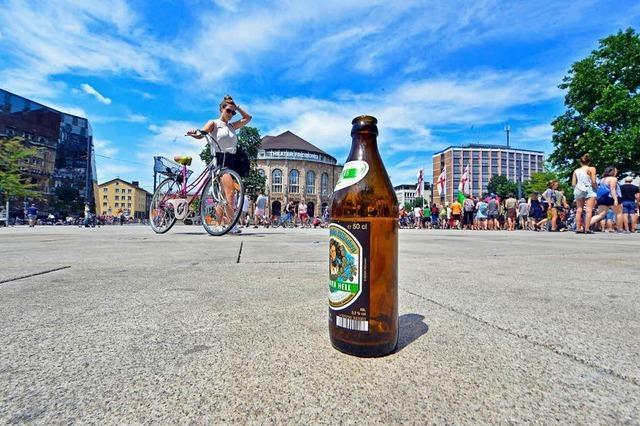 Freiburgs Erstis starten mit viel Alkohol ins Semester – und mit Müll