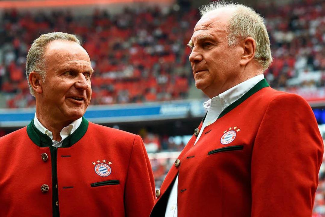 Der FC Bayern will künftig mit Unterlassungserklärungen reagieren.    Foto: AFP