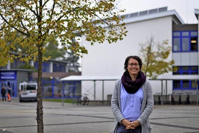 Die neue Rektorin der Gemeinschaftsschule in March möchte die Außenwirkung ihrer Einrichtung verbessern