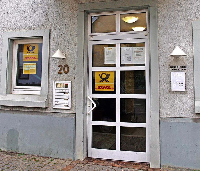 Die Postfiliale im Köndringer Rathaus  | Foto: Annika Sindlinger