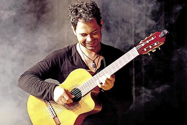 Gitarrenvirtuose Christian Reichert bei