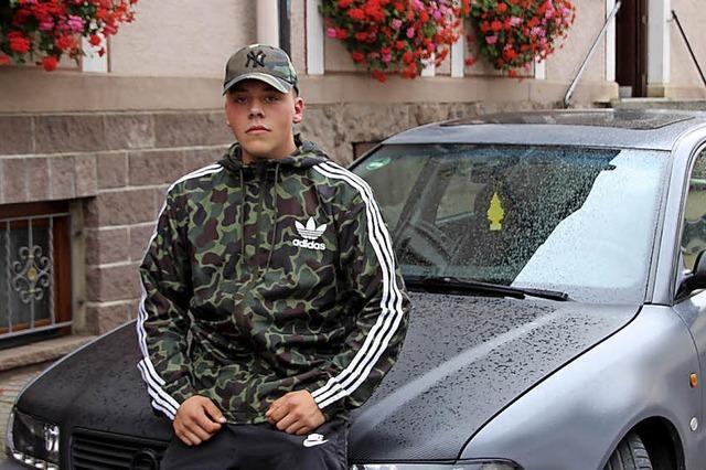 Rapper aus Bräunlingen will nach oben