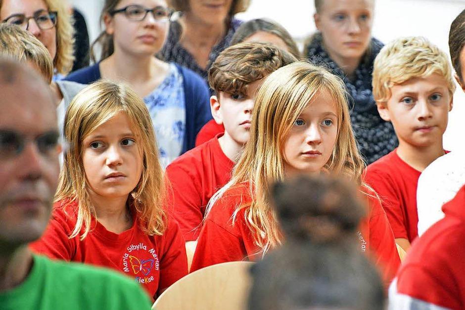 Gespannte Gesichter: Wer wird einen Preis ergattern? (Foto: Michael Bamberger)