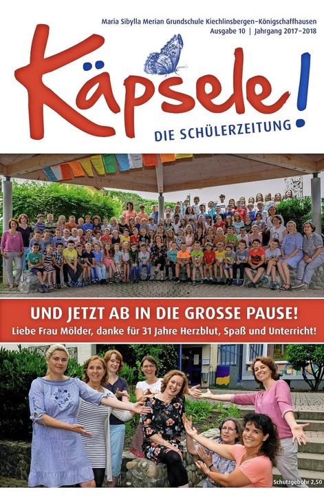 Gewinner in der Kategorie Grundschulen...rundschule in Endingen-Kiechlinsbergen  | Foto: -