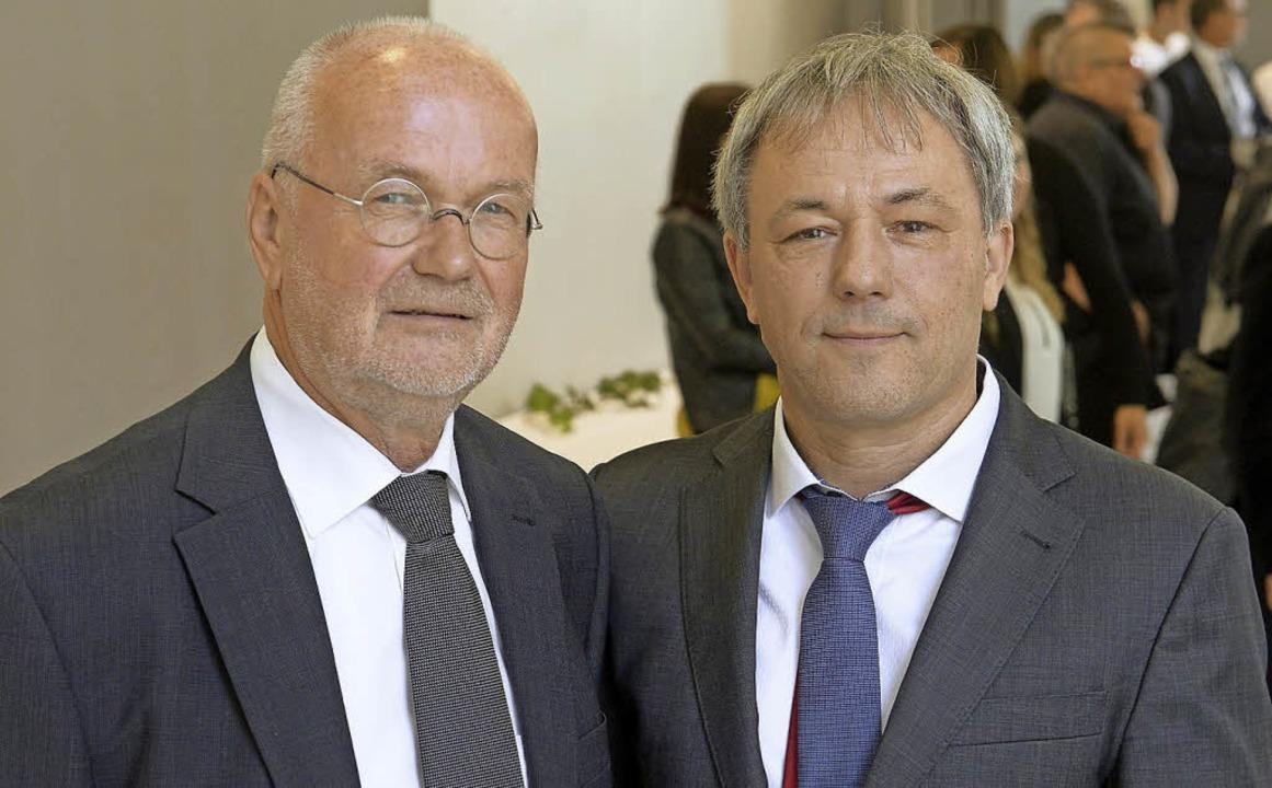 Wechsel am Arbeitsgericht: Martin Grem...ns-Georg Müller, der in Pension geht.   | Foto: ingo schneider