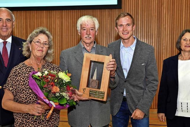 Sportpreis für Siegfried Kaltenbach
