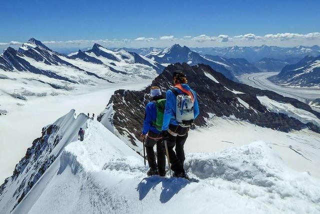 Carla Jaggi ist Bergführerin – eine der wenigen Frauen in dem Beruf