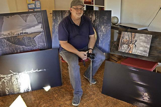 Friesenheimer Künstler macht aus seiner Depression Kunst