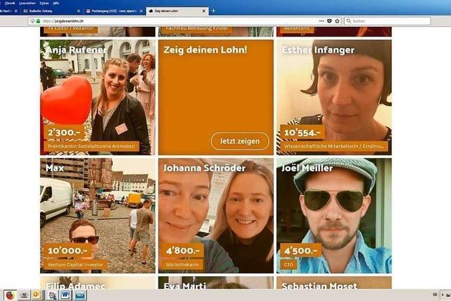 Warum viele Schweizer im Internet ihr Gehalt veröffentlichen