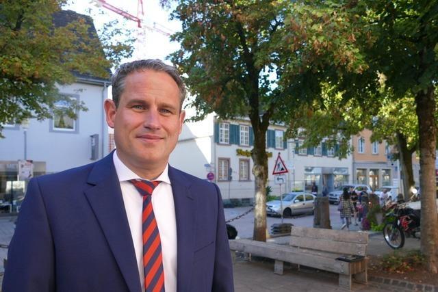 Die Schopfheimer wählen Dirk Harscher zum Bürgermeister
