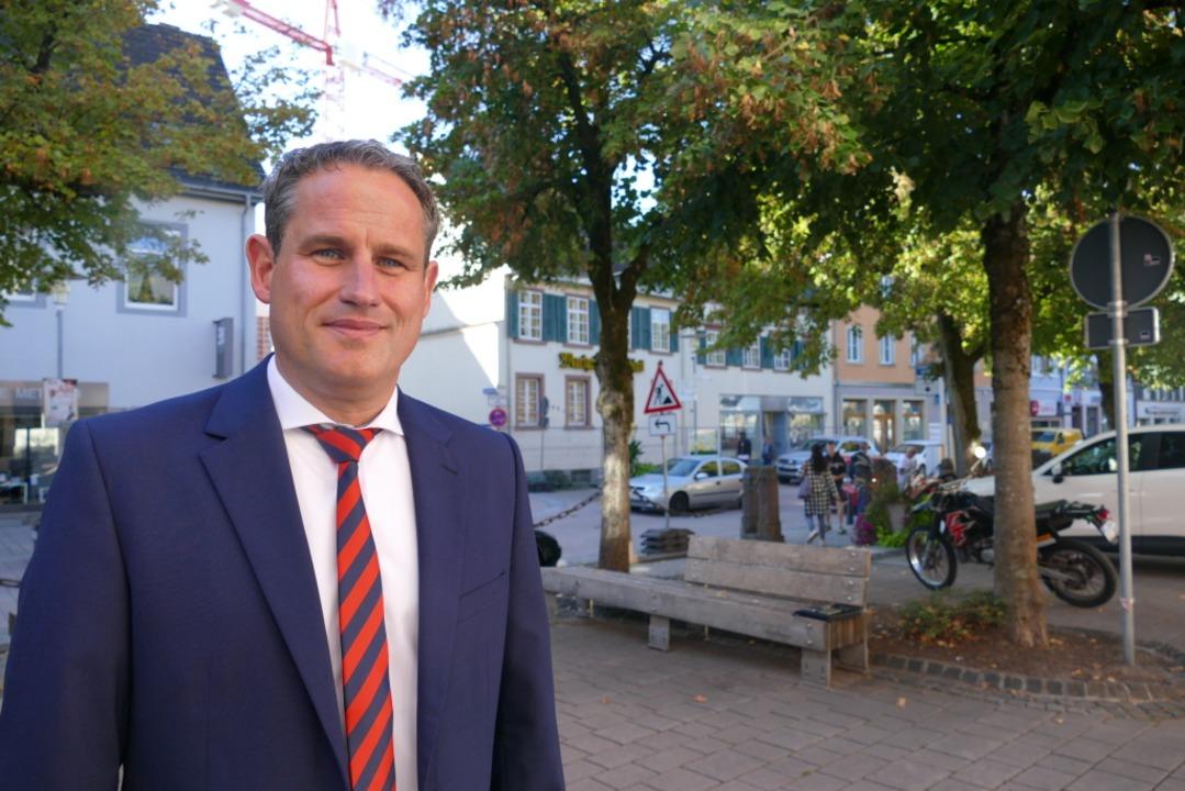 Der neue Bürgermeister von Schopfheim: Dirk Harscher  | Foto: André Hönig