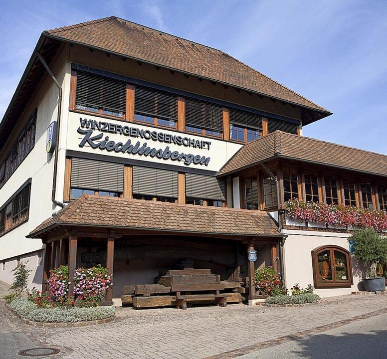 Station 4: Die Winzergenossenschaft in Kiechlinsbergen  | Foto: Martin Wendel