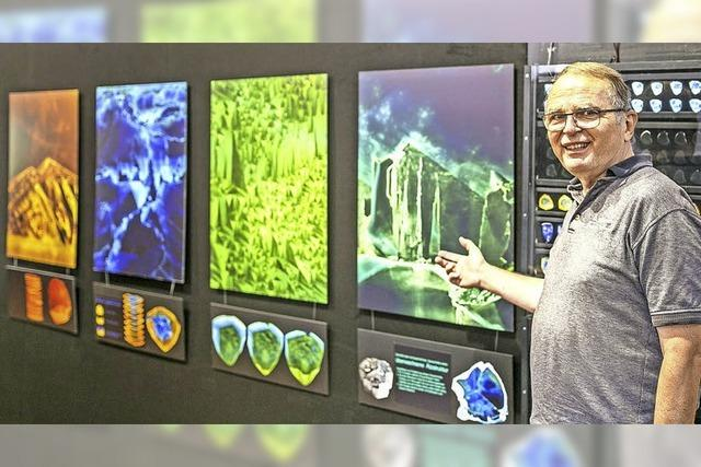 """Kristallmagie – Verborgener Zauber dunkler Turmaline"" in Sulzburg"