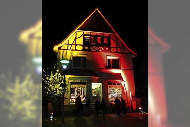 Lichter-Einkaufsabend in Rheinfelden