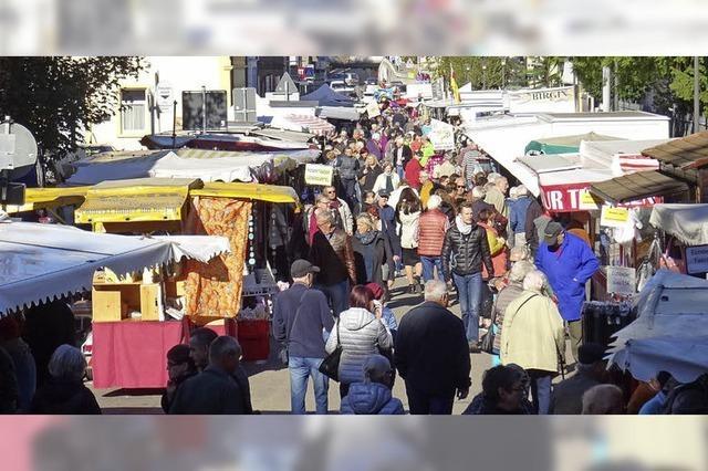 Chilbi-Markt im Wetterglück
