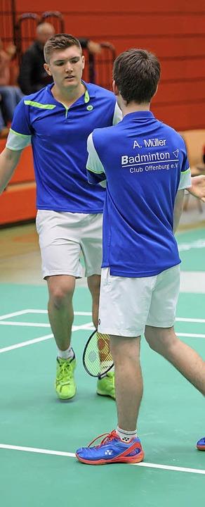 <BZ-FotoAnlauf>Badminton:</BZ-FotoAnla...er zogen gegen Augsburg den Kürzeren.   | Foto:  S. Köhli