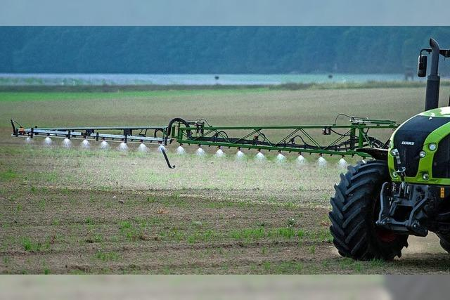Sorge wegen der Pestizide