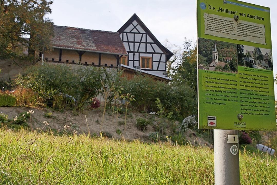 Station 3: Das Pfarrhaus in Amoltern  | Foto: Martin Wendel