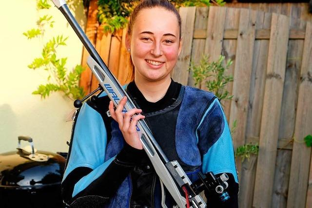 Diese Heitersheimerin gehört zur Nationalmannschaft der Kleinkaliber-Schützen