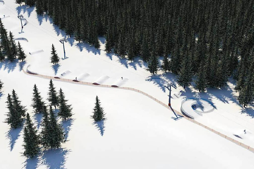 So sollen die Funslopes – überse...isualisierung der Young Mountain GmbH.  | Foto: Young Mountain GmbH