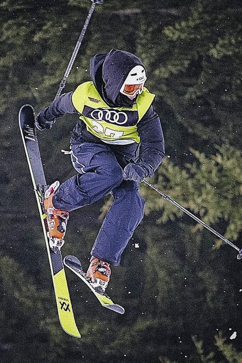Für den Löffinger Freeskier Jakob Flöß...ßung die Trainingsmöglichkeit vor Ort.  | Foto: Skiclub Löffingen