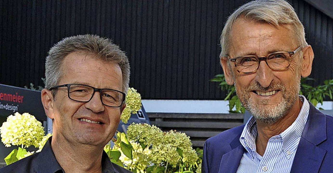 Jürgen Eise (links) unterstützt künfti...r stellvertretender Stiftungsrat ist.   | Foto: Sportstiftung