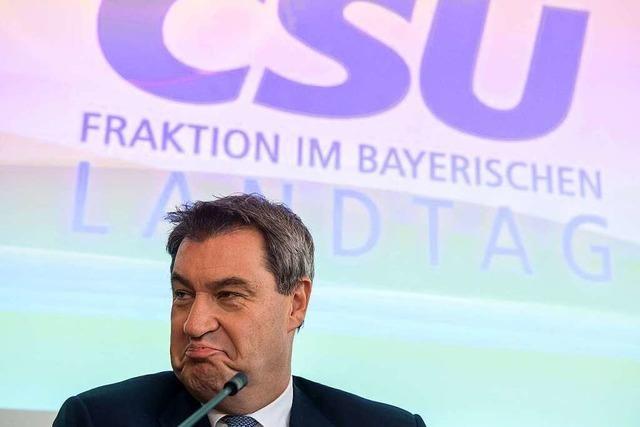 Was ist am Sonntag in Bayern geschehen?