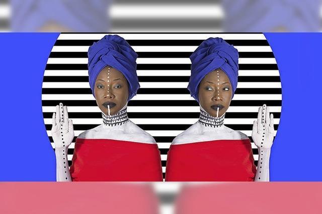 Afro-Pop-Star Fatoumata Diawara aus Mali tritt in der Kaserne in Basel auf