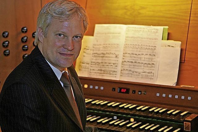 Organist Florian Wilke und Autor Martin Graff gastieren in Grenzach