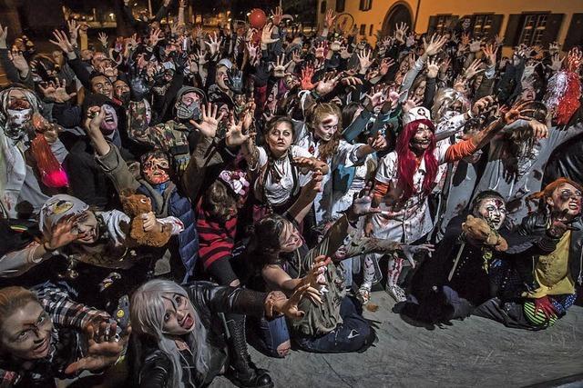 Zombie Walk 2018 durch Basel
