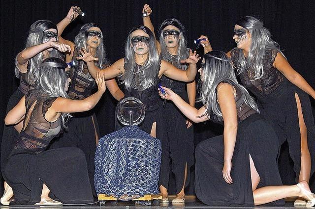 Mitreißende Tanzshow