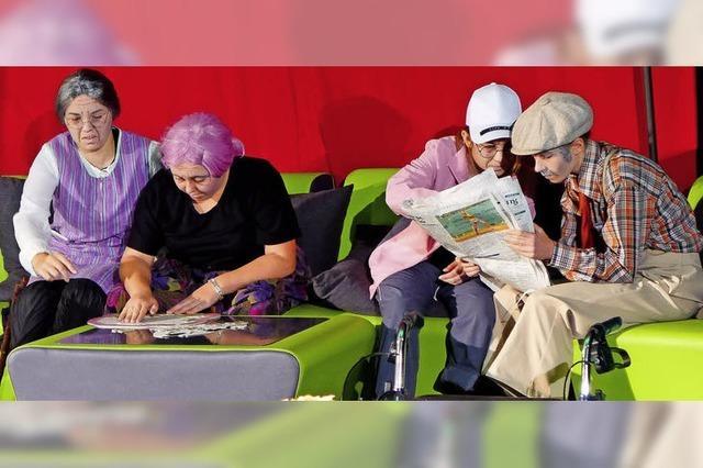 Schüler werden zu Senioren