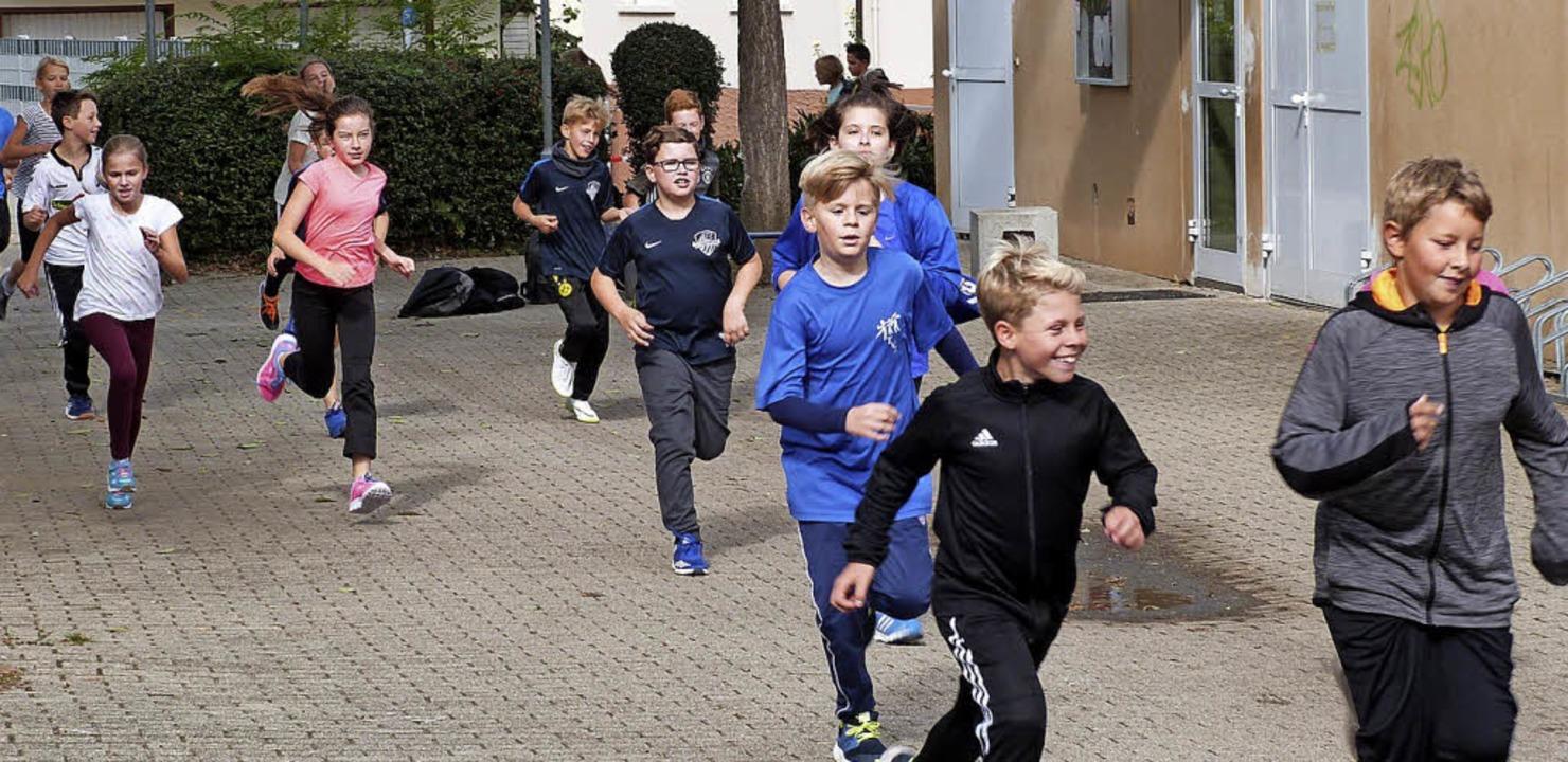 Läufer in Aktion   | Foto: Presse-AG