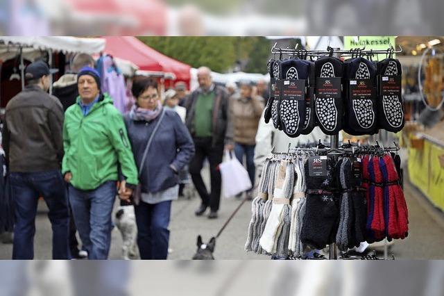 Herbstmarkt in Ichenheim