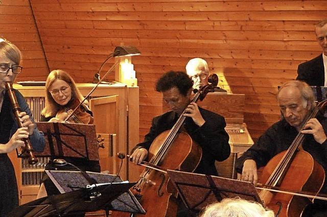 Musik vom Feinsten in Münstertals Friedenskirche