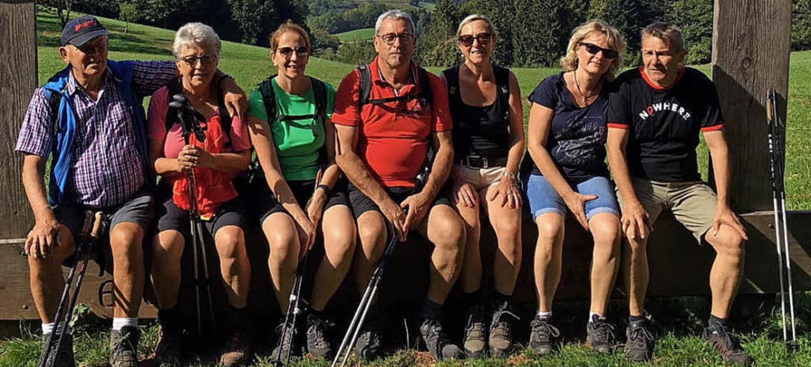 <BZ-FotoAnlauf>Skiclub Reichenbach:</B...uf> Zwei Tage  rund um Oberharmersbach  | Foto: Verein