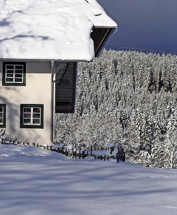 Der Mathislehof im Winter   | Foto: S.  Gilg