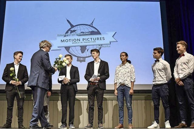 Kurzfilmvorführung am Friedrich-Gymnasium