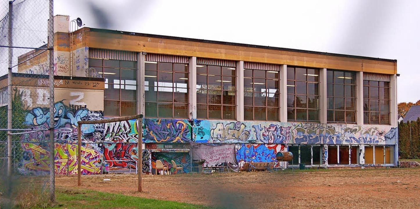 Ziemlich marode: die Turnhalle Mühlengasse   | Foto: Christian Ringwald