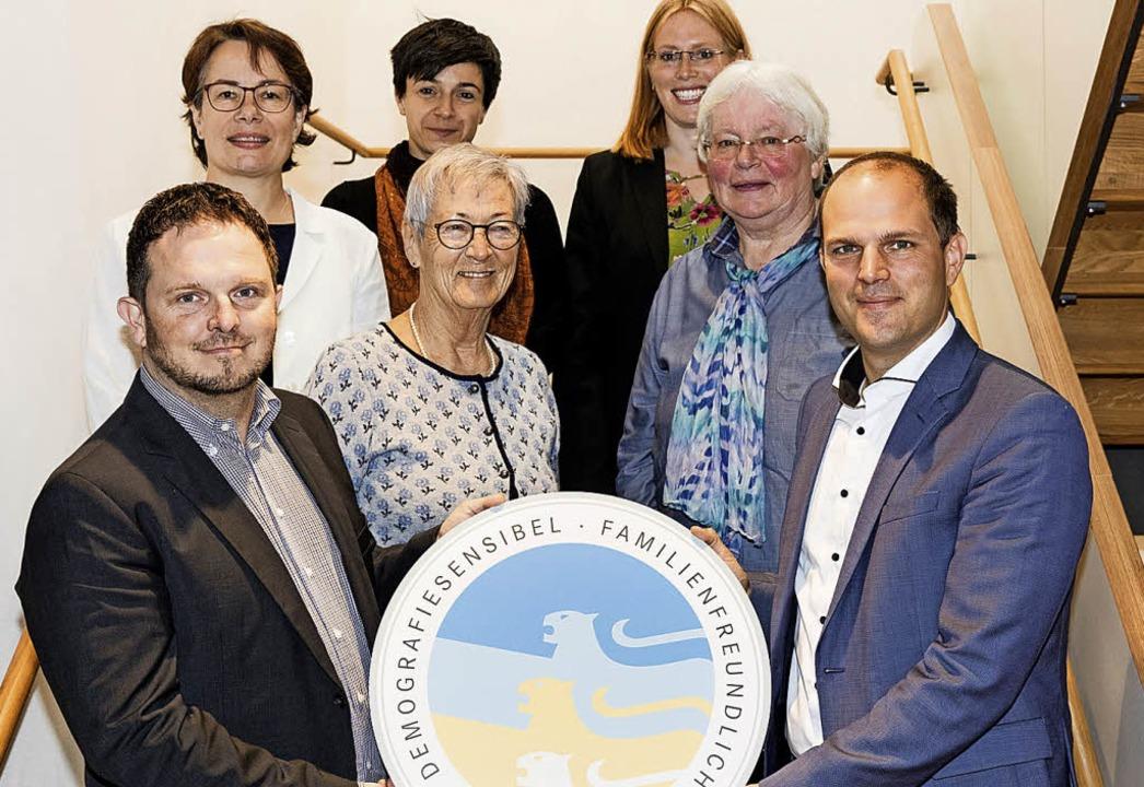 Demografiesensibel: Für die erfolgreic...rde Waldkirch vom Land ausgezeichnet.   | Foto: zahn