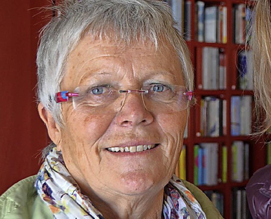 Hannelore Rosskopf    Foto: Anika Maldacker