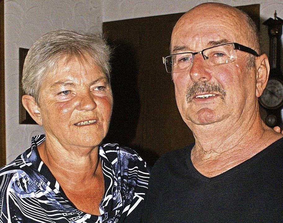 Seit 50 Jahren sind Rita und Heinz-Pet...Rickenbach-Jungholz heute verheiratet.  | Foto: WErner Probst
