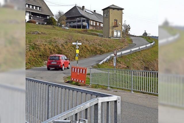 Schliefeweg als Laster-Straße