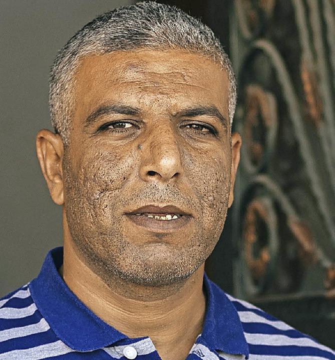 Ismail Talla schürt Hass gegen die UNR...t seiner Familie nach Europa flüchten.  | Foto: Jonas Opperskalski