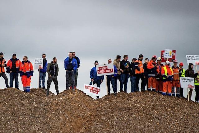 Protest gegen Kohleausstieg