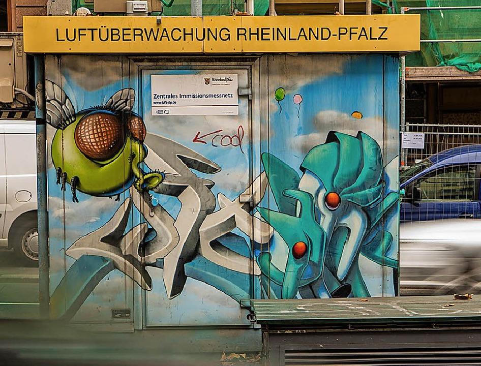 Messstation in  Mainz   | Foto: dpa