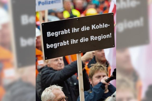 Pro-Kohle-Demonstration