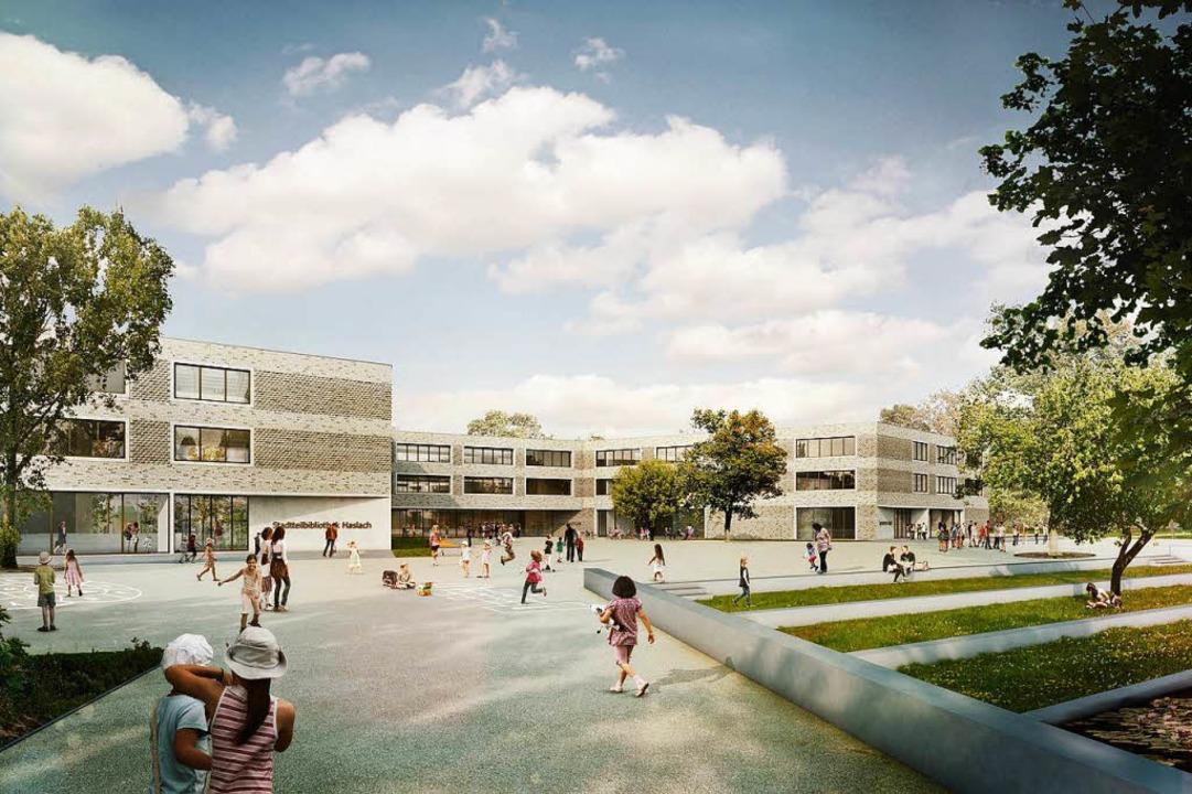 Zukunftsweisend: die neue Staudinger-Schule.  | Foto: Sacker Architekten